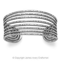 """James Avery- The Eight Wires Cuff Bracelet is 2 5/8"""" diameter.  *I have this one, it's a great bracelet:)"""