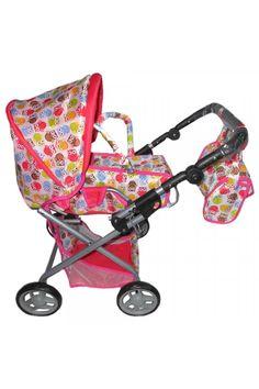 Detský kočík pre bábiky Baby Mix so sovičkami Baby Strollers, Children, Kids, Strollers, Sons, Child, Babies, Infant