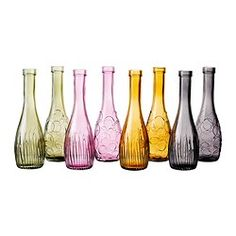 SAM! Look what IKEA has! 2.99 each. Do we need a better reason to take a trip?!? LOVLIG Vase - IKEA