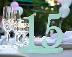 Wedding Table Numbers For Weddings And Events Wedding Decor For Wedding Table…