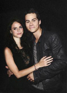 Dylan and Kaya Scodelario