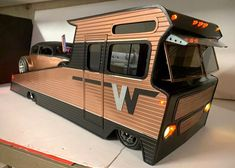 Just A Car Guy: this would be a cool combo RV hauler! Hot Rod Trucks, Cool Trucks, Big Trucks, Chevy Trucks, Pickup Trucks, Bagged Trucks, Toy Hauler Trailers, Cool Rvs, Vintage Motorhome