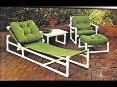 New Outdoor Patio Layout Furniture 20 Ideas Pvc Pipe Furniture, Diy Garden Furniture, Trendy Furniture, Outdoor Furniture Sets, Pvc Pipe Crafts, Pvc Pipe Projects, Furniture Layout, Furniture Design, Tube Pvc