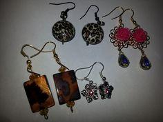 diy earrings I made
