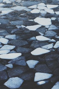 These Icebergs have been found in West Iceland where some of the Icebergs have changed color due to the sun.