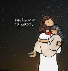 I Love You God, God Loves You, Gods Love, Jesus Cartoon, Happy Cartoon, Christian Messages, Christian Memes, Bible Qoutes, Jesus Quotes