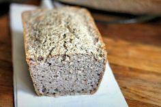 Crumb on gluten-free sourdough bread recipe