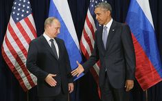 PUTIN SNUBS OBAMA at United Nations