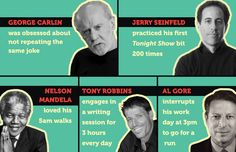 Why the Best Presenters are Boring People -  They develop habits and routines which engender success