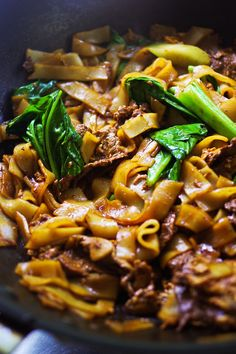 Pad See Ew by eatyourteachup #Protein #Noodles #Chinese_Broccoli #Thai