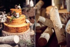@Erik Rannala Venetsky i could see your (winter) wedding being themed like this- look at the cake!