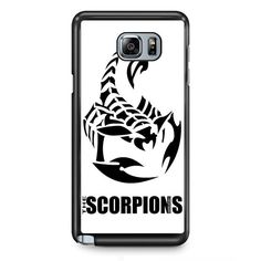 The Scorpions TATUM-10998 Samsung Phonecase Cover Samsung Galaxy Note 2 Note 3 Note 4 Note 5 Note Edge