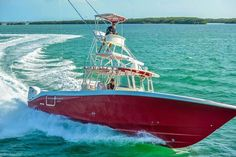 42 CC. Fishing the Florida Keys. Boating - Seatech Marine Products  Daily Watermakers