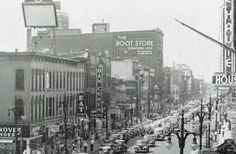 1948, The year I was born.  Hard to imagine Terre Haute looking like this.