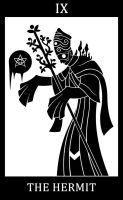 09 - The Hermit - Master Willem by SunnyClockwork