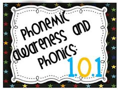 Phonemic Awareness and Phonics 1.0.1 - includes what kids should know at certain ages and some activities to do.