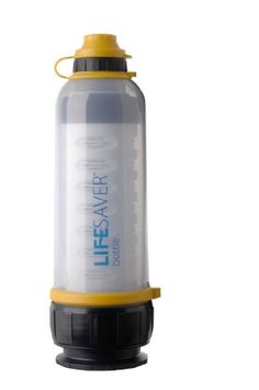 4000 Ultra Filtration Water Bottle, Lifesaver Systems