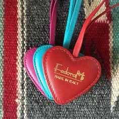 FedoraMi heart charms