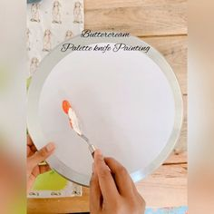 Buttercream Techniques, Palette Knife Painting, Just Peachy, Royal Icing, Cake Decorating, Photo And Video, Tableware, Rose, Cookie
