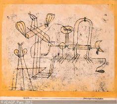 Paul Klee: switzerlan kleine experimentier maschine.