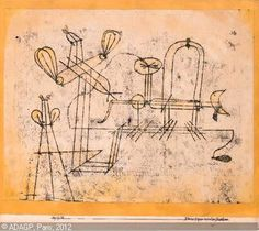Paul Klee: switzerlan kleine experimentier maschine.