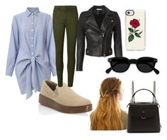 """""""28"""" by hermanrizek on Polyvore featuring Prada, IRO, Casetify, WithChic and Fendi"""