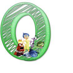 Letras  de IntensaMente Abc For Kids, Blogger Templates, Tricks, Display, Party, Design, Weather, Decorations, Board