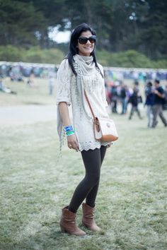 Street Style Fashion – Festival Clothing at Outside Lands Part Three | Free People Blog