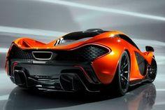 McLaren P1 Ferrari