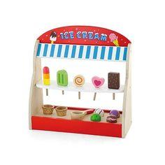 Is butik med tilbehør fra Viga Different Ice Cream Flavors, Kids Bed Design, Play Shop, Little Girl Gifts, Unique Toys, Childrens Gifts, Childrens Bedroom, Woodworking Toys, Toy Kitchen