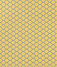 Joel Dewberry Lodge Lattice Vintage Yellow Fabric - $8.9 | onlinefabricstore.net