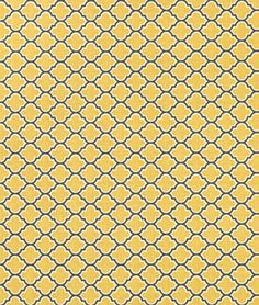Joel Dewberry Lodge Lattice Vintage Yellow