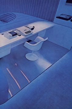 70s Sci-Fi Art: futureprobe: The room of the future! Featuring the...