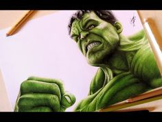 Drawing Incredible Hulk | Desenhando o Incrível Hulk