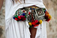 Gypsy belt  madame de rosa