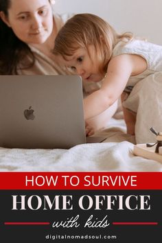 Do you work from home when your kids are around? Being a stay-at-home-mom can be extremely hard and stressful! Check out this ultimate list with the 25 best tips on how you can work online from your home office with your kids around AND be super productive! #productivitytips #stayathomemom #stayathomedad #remotework #makemoneyonline #sidehustle Stay At Home Dad, Priorities List, Do You Work, Best Blogs, Digital Nomad, Online Work, Take Care Of Yourself, Productivity, Home Office