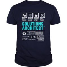 SOLUTIONS ARCHITECT T-Shirts, Hoodies. CHECK PRICE ==► https://www.sunfrog.com/LifeStyle/SOLUTIONS-ARCHITECT-100444921-Navy-Blue-Guys.html?id=41382