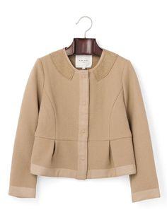 M.BLANC - no color short jacket