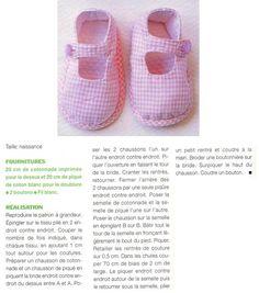 [Couture] Les chaussons en Vichy - La Boutique du Tricot et des Loisirs Créatifs