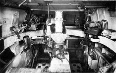Inside a Panzer IV.