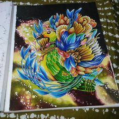 Adult Coloring, Coloring Books, Chapters Indigo, Prismacolor, Colored Pencils, Exotic, Arts And Crafts, Poster, Bird