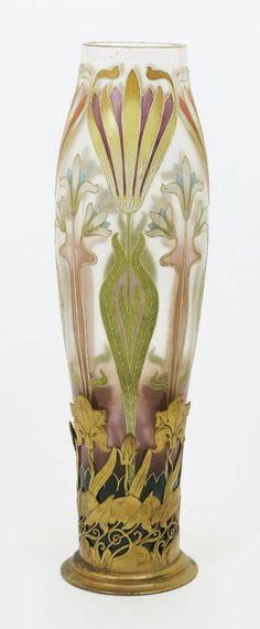 Van Hauten art Nouveau Vase | JV