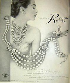 1952 Robert jewelry ad