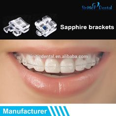 Check out this product on Alibaba.com APP Sinitic Dental Roth Zafiro hook 3 / 4 / 5 slot 0.022 sapphire brackets
