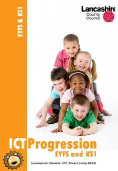 ICT progression documents for Primary and Early Years from Lancashire Schools. Learning Apps, Kids Learning, Primary School, Pre School, Physical Activities For Toddlers, Canadian Holidays, Language Development, Emotional Development, School Programs