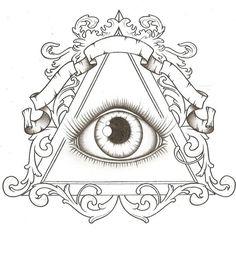 Illuminati tattoo idea