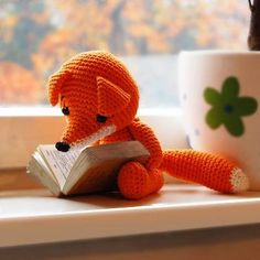 #amigurumi #crochet fox