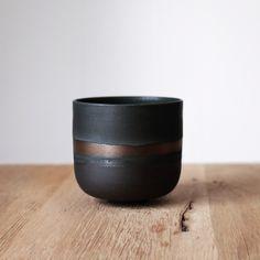 Barbara Lormelle Ceramics Vases, Jar Design, Ceramic Design, Stoneware, Tableware, Handmade, Collections, Black, Decor