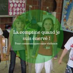 Comment transformer un énervement ou une colère en énergie positive afin de s'exprimer sans violence ? Grâce à cette comptine très inspirée de la communication non-violente ! Education Positive, Kids Education, Parenting Advice, Kids And Parenting, Self Regulation, Happy Kids, Montessori, Coaching, Activities For Kids