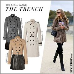 Stylebop.com Burberry Trenches